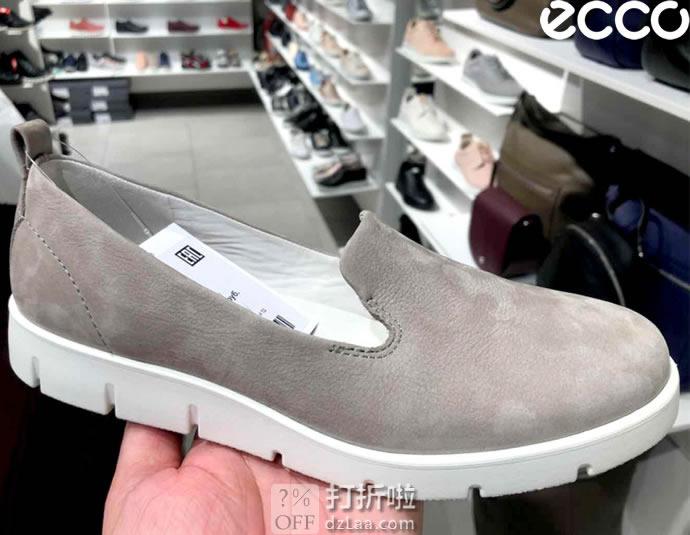 ECCO 爱步 Bella 贝拉系列 一脚套女式休闲鞋 36码4.5折$48.96 海淘转运到手约¥428 中亚Prime会员免运费直邮到手约¥388