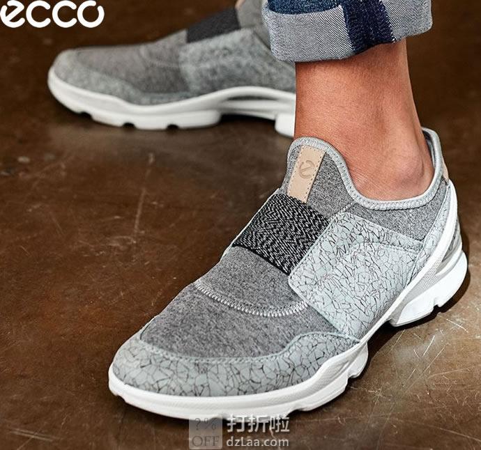 限尺码 ECCO 爱步 19年春季新款 Biom Street 健步街头系列 一脚套 女式休闲鞋 ¥442 中亚Prime会员免运费直邮到手约¥490