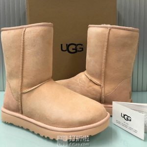 销量第一 限尺码 UGG Classic Short II 经典款女式雪地靴 3.8折$60.77 海淘转运到手约¥537 国内¥1084