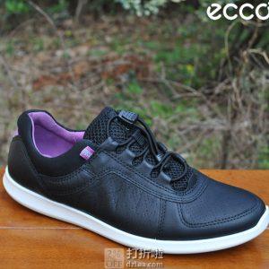ECCO 爱步 Sense 森斯系列 牦牛皮 快速锁扣 女式休闲运动鞋 4.1折$53.01起 海淘转运到手约¥452