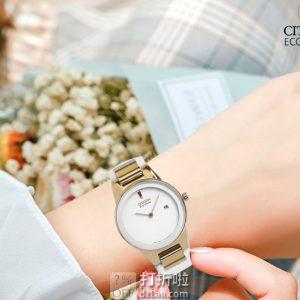 CITIZEN 西铁城 光动能 女式手表 GA1053-01A 4.4折 海淘转运关税补贴到手约¥813