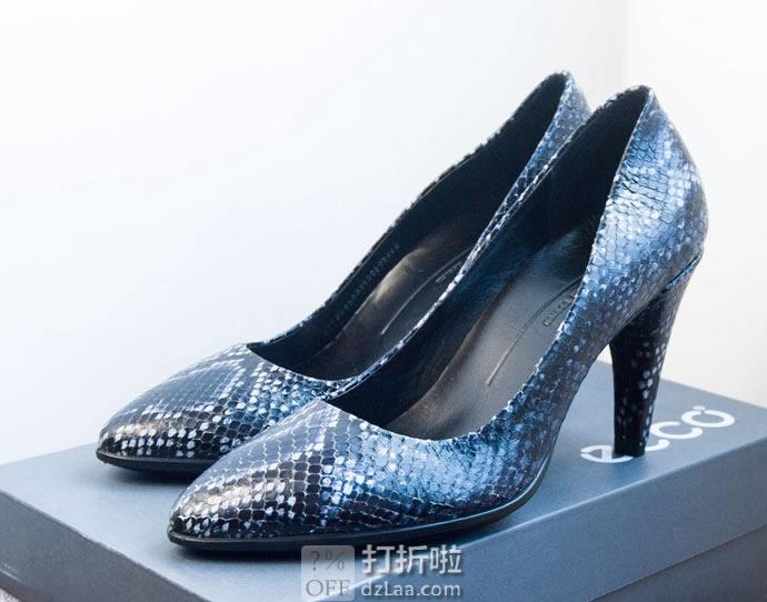 ECCO 爱步 Shape 75 型塑75尖头系列 女式高跟鞋 38码4折$64.43 淘转运到手约¥535 中亚Prime会员免运费直邮到手约¥496