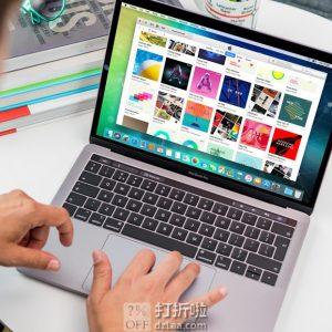 金盒特价 翻新版 Apple MacBook Pro 苹果 13.3英寸笔记本电脑 18年中款 带Touch Bar(i5/8G/256G固态硬盘) 银色 8.3折$1529.99 海淘转运到手约¥10682