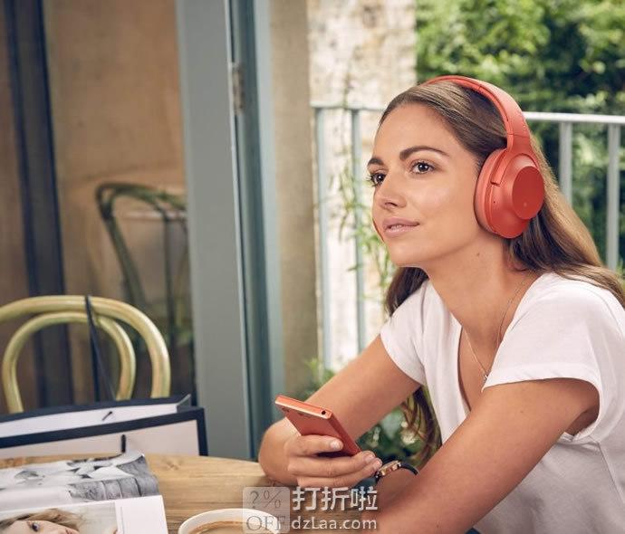 限PLUS会员 SONY 索尼 h.ear on Wireless 2 WH-H900N 无线降噪耳机 京东优惠券折后¥1099 多色可选
