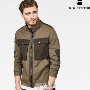G-Star Raw Type C 男式衬衫夹克 M码¥333 中亚Prime会员免运费直邮到手约¥372