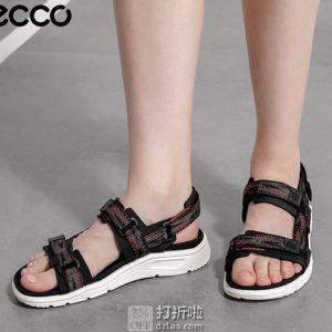 ECCO 爱步 19年夏季新款 X-Trinsic 全速系列 女式凉鞋 4.3折$51.96起 海淘转运到手约¥419 中亚Prime会员可免运费直邮到手约¥423