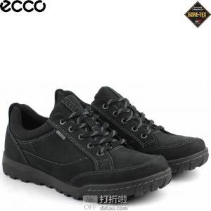 ECCO 爱步 都市生活 Urban Lifestyle GTX防水 男式低帮徒步鞋 42码¥559 中亚Prime会员免运费直邮到手约¥616