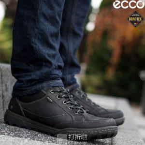 脚大有福 ECCO 爱步 都市生活 Urban Lifestyle GTX防水 男式低帮徒步鞋 44码 中亚Prime会员免运费直邮到手约¥561