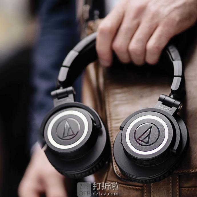 Audio-Technica 铁三角 ATH-M50xBT 蓝牙头戴式耳机 6.5折$129 海淘转运到手约¥938