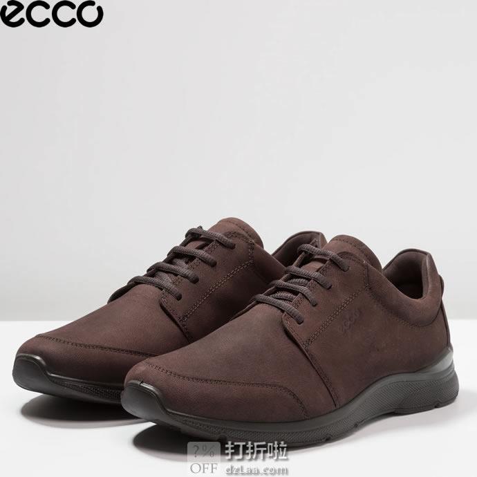 ECCO 爱步 IRVING 欧文系列 男式休闲鞋 43码¥449 中亚Prime会员免运费直邮到手约¥551