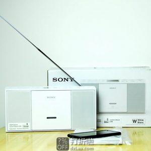 SONY 索尼 Boombox 收音机 ZS-PE60 可播放CD 镇店之宝¥527 中亚Prime会员免运费直邮到手约¥588