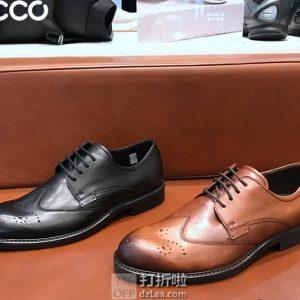 ECCO 爱步 19年春季新款 Vitrus III 唯图系列 布洛克鞋 男式正装鞋 44码¥469 天猫¥1619