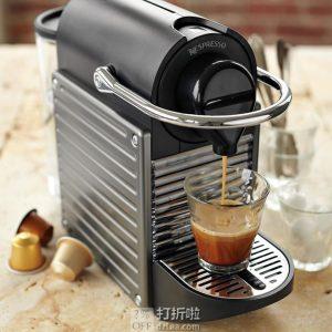 金盒特价 Krups XN 3005 Nespresso Pixie 胶囊咖啡机 ¥644 中亚Prime会员免运费直邮到手约¥709