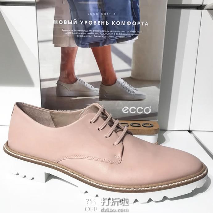 ECCO 爱步 Incise 英姿系列 女式牛津鞋 36码¥392 中亚Prime会员免运费直邮到手约¥432
