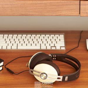 森海塞尔 Sennheiser 大馒头2.0 包耳式HIFI耳机 苹果版 带麦线控 白色 ¥881 中亚Prime会员免运费直邮到手约¥968