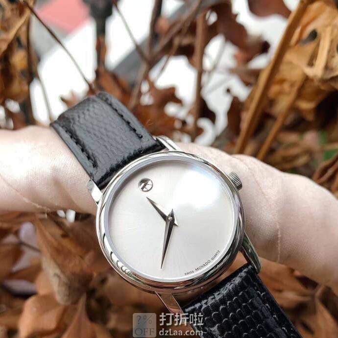 MOVADO 摩凡陀 2100003 博物馆系列 女式手表 2.5折$139.99 海淘转运关税补贴到手约¥1132