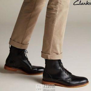 Clarks 其乐 Clarkdale Rich 男式系带短靴 43码¥327 中亚Prime会员免运费直邮到手约¥362