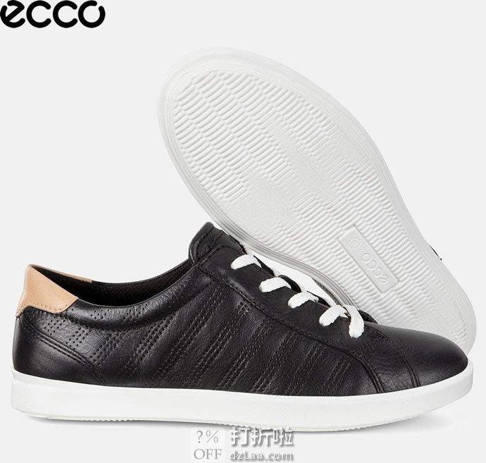 ECCO 爱步 Leisure 惬意系列 女式系带休闲鞋 4.2折$54.99起 海淘转运到手约¥469 中亚Prime会员免运费直邮到手约¥429