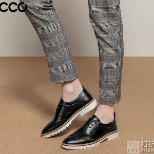 ECCO 爱步 Incise英姿系列 布洛克风格 女式牛津鞋 ¥560 两色可选