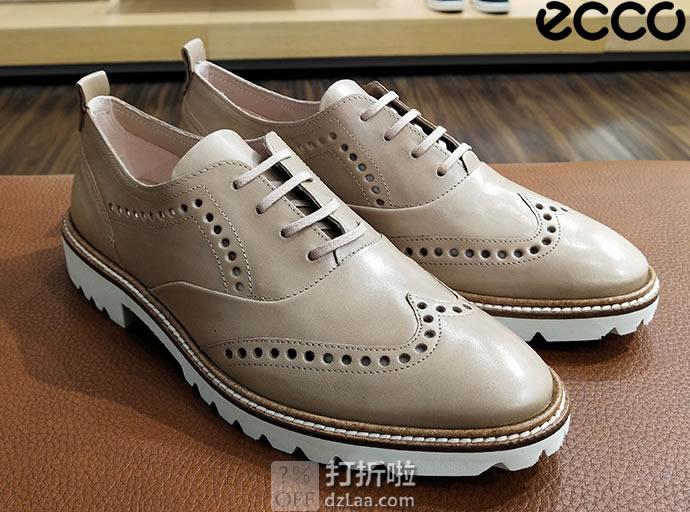 ECCO 爱步 Incise英姿系列 布洛克风格 女式牛津鞋 35码2.5折$43.1 海淘转运到手约¥393