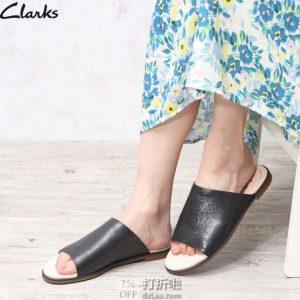 Clarks 其乐 Bay Petal 女式拖鞋 38码¥261 中亚Prime会员免运费直邮到手约¥290 天猫¥729