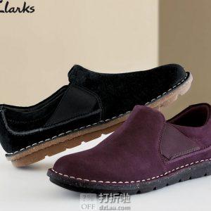 Clarks 其乐 Tamitha Gwyn 一脚套女式休闲鞋 35码2.9折$27.2 海淘转运到手约¥278 中亚Prime会员免运费直邮到手约¥229
