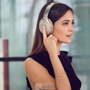 Sony 索尼 WH-1000XM3 头戴式无线蓝牙降噪耳机 ¥1599秒杀 2色可选