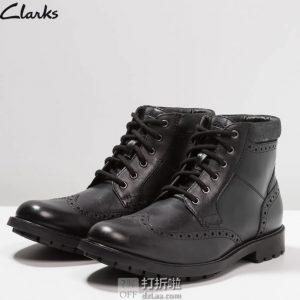 Clarks 其乐 Curington Rise 布洛克风格 男式短靴 41码¥373 中亚Prime会员免运费直邮到手约¥413