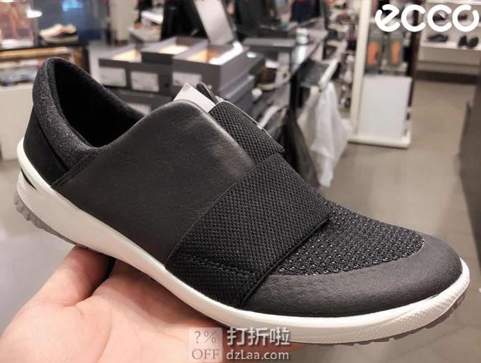 ECCO 爱步 19年新款 Biom Life 健步生活系列 一脚套 女式户外休闲鞋 4折$55.93 海淘转运到手约¥476