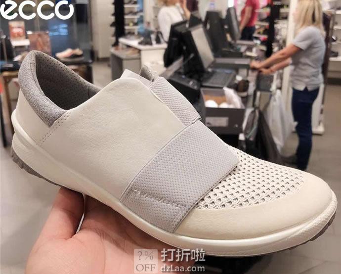 ECCO 爱步 19年新款 Biom Life 健步生活系列 一脚套 女式户外休闲鞋 37码3.3折¥324 中亚Prime会员免运费直邮到手约¥357