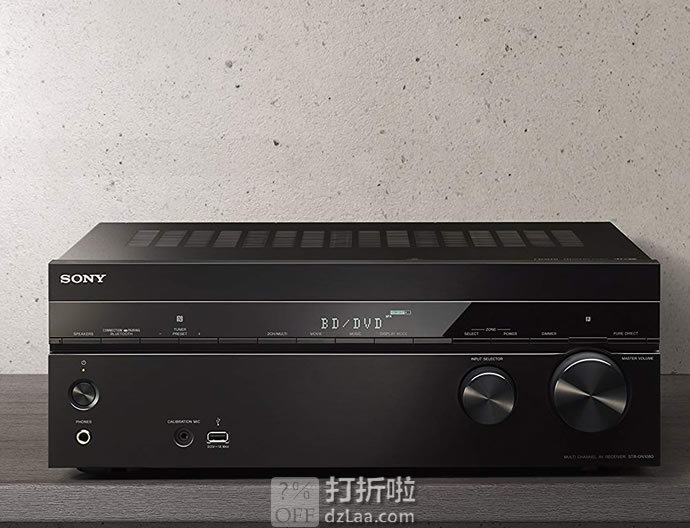 金盒特价 SONY 索尼 STR-DN1080 7.2声道 AV功放 5.8折$348 海淘转运到手约¥3178 中亚Prime会员可免运费直邮到手约¥3273