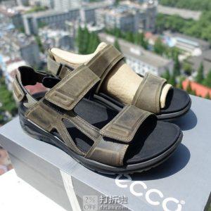 ECCO 爱步 19年春夏款 X-trinsic 全速系列 男式凉鞋 41码3折$36.52 海淘转运到手约¥348