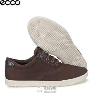 限尺码 ECCO 爱步 Collin 2.0 CVO 男式系带休闲鞋 2.9折$43.25 海淘转运到手¥396