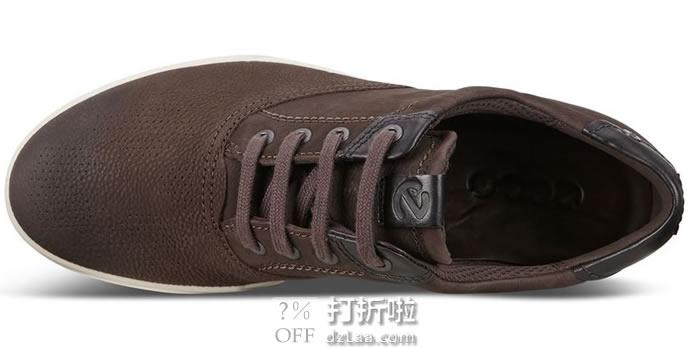 ECCO 爱步 Collin 2.0 CVO 男式系带休闲鞋 41码2.8折.03 海淘转运到手¥387
