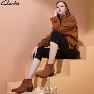 Clarks 其乐 Maypearl Fawn 女式短靴 35.5码 ¥180