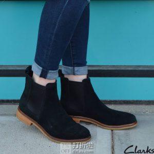 限尺码 Clarks 其乐 Clarkdale Arlo 女式切尔西靴短靴 ¥317
