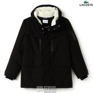 Lacoste 法国鳄鱼 保暖男式派克大衣 S码2.6折$81.02 海淘转运到手约¥649