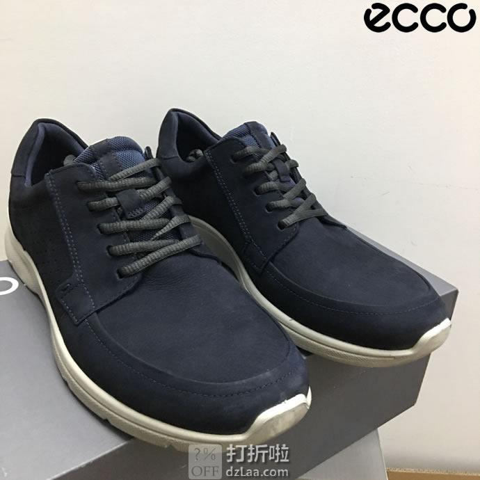 ECCO 爱步 IRVING 欧文系列 低帮男式休闲鞋 ¥472起 中亚Prime会员免运费直邮到手约¥520