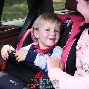 降¥120 Kiddy 德国奇蒂 守护者2代 儿童汽车安全座椅 天猫优惠券折后¥368包邮史低(¥858-490)4色可选 送FIX软接口