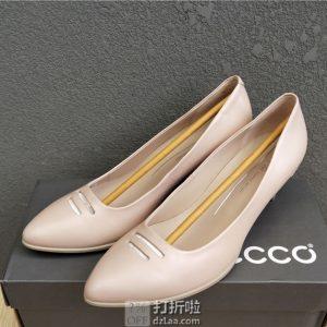 ECCO 爱步 Shape 45 型塑系列 浅口尖头女式单鞋高跟鞋 ¥463 两色可选