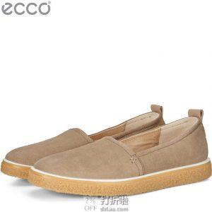 ECCO 爱步 Crepetray 酷锐 一脚套女式休闲鞋 3.8折$52.84起 海淘转运到手约¥456 中亚Prime会员免运费直邮到手约¥426