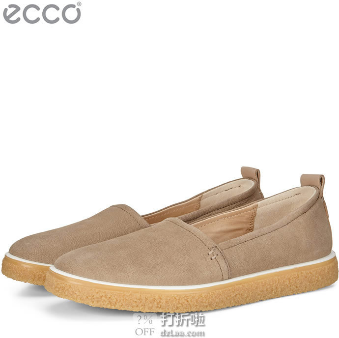 ECCO 爱步 Crepetray 酷锐 一脚套女式休闲鞋 1.6折$21.66起 海淘转运到手约¥242