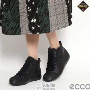 ECCO 爱步 SOFT 7 Tred 柔酷7号 GTX防水 女式保暖短靴 39码¥518 中亚Prime会员免运费直邮到手约¥570 天猫¥1989