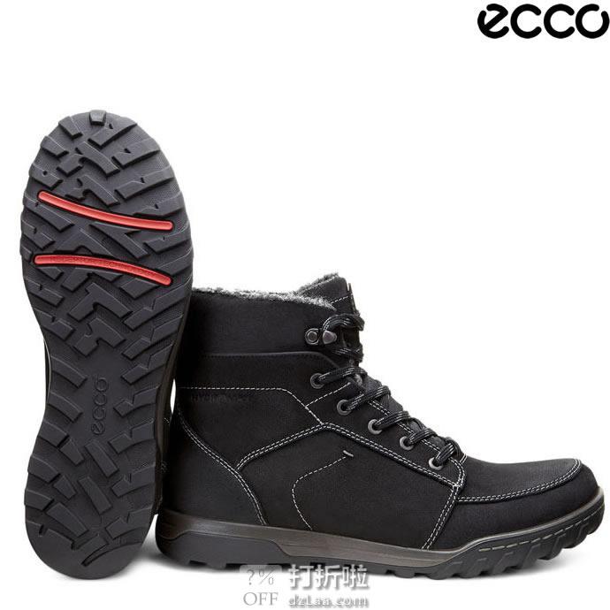 ECCO 爱步 Urban Lifestyle 都市生活 防水保暖 男式短靴 44码4.2折¥512 中亚Prime会员免运费直邮到手约¥577