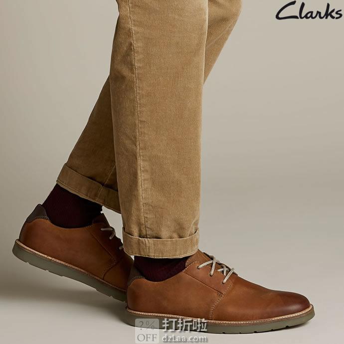 Clarks 其乐 Grandin Plain 男式德比鞋 ¥289起 中亚Prime会员免运费直邮到手约¥319 两色可选