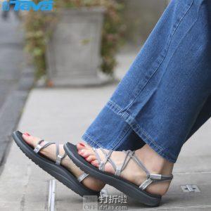 Teva Voya Infinity 系绳速干女式凉鞋 5.1折$20.31起 海淘转运到手约¥199 中亚Prime会员凑单免运费直邮到手约¥161
