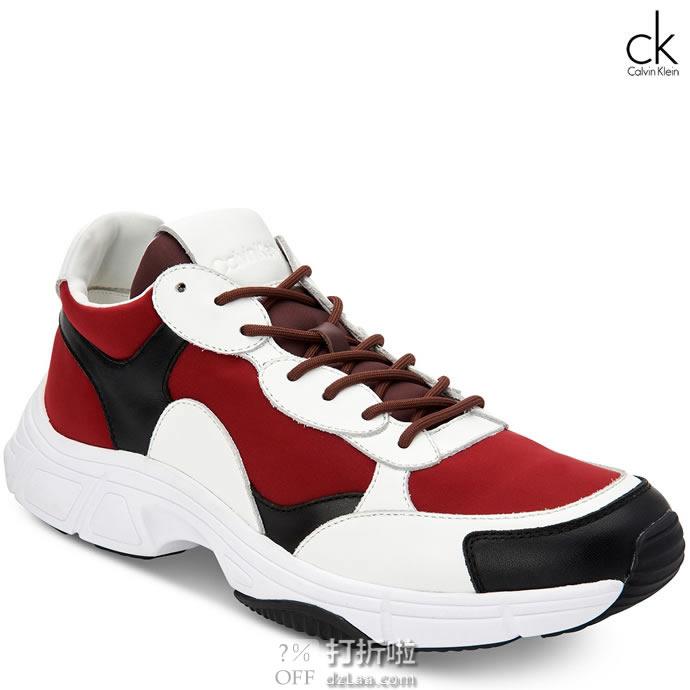 Calvin Klein 卡尔文克莱因 Daxton CK 男式板鞋 老爹鞋 40码2.2折$29.05 海淘转运到手约¥289