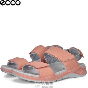ECCO 爱步 19年春夏新款 X-trinsic 全速系列 女式凉鞋 5.3折$63.89起 海淘转运到手约¥498 中亚Prime会员免运费直邮到手约¥507