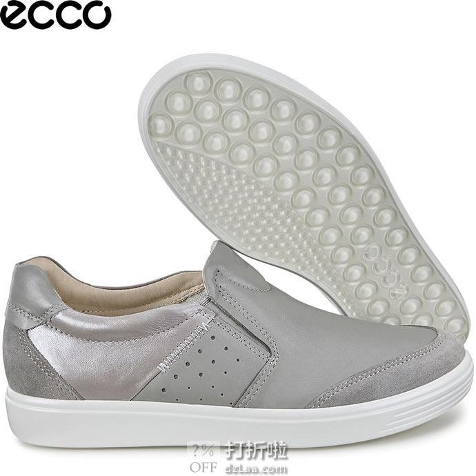 ECCO 爱步 Soft 7 柔酷7号 侧打孔 一脚套女式休闲鞋 ¥358起 中亚Prime会员免运费直邮到手约¥395