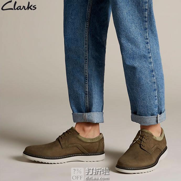 Clarks 其乐 Un Geo Lace 男式德比鞋 41.5码 中亚Prime会员免运费直邮到手约¥313
